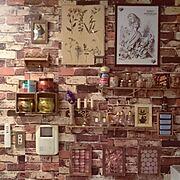 北欧✖︎カラフル/On Walls…などのインテリア実例