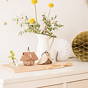 My Shelf/永田みどり/カッティングボード/やきもの/おひなさま/ひな祭り…などのインテリア実例