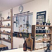 アンティーク缶/珪藻土壁/無垢の床/NORDICO/観葉植物/アマダナのウォーターサーバー…などに関連する他の写真