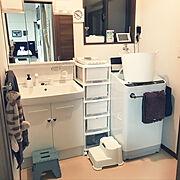 こどもと暮らすインテリア/センスが欲しい/シンプルに暮らしたい/掃除を楽にしたい/Bathroom…などのインテリア実例