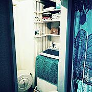 IKEA/棚DIY/洗濯機まわり/サーファーズハウス/ビーチハウス/カリフォルニアスタイル…などのインテリア実例
