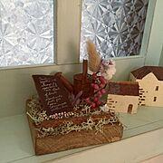 窓枠DIY/kuu-naturalさんのブースにて。/ブースNo.132/miki&jasmine…などのインテリア実例