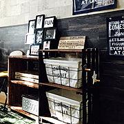My Shelf/salut!/壁紙/壁紙屋本舗/DIY/収納…などのインテリア実例