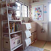 くらしのeショップ/IKEA部/IKEA/山善収納部/山善/キッズスペース…などのインテリア実例