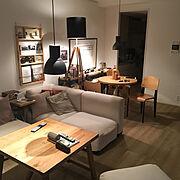 IKEA/東ドイツ/模様かえ/lovely day/DIY/ライティング…などのインテリア実例