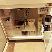 洗面台のインテリア実例写真