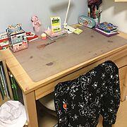 子供部屋/無印用品/My Desk…などのインテリア実例