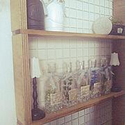 My Shelf/リメイク/DIY/100均/コメントも無言も大歓迎です★/いいね&フォローありがとうございます♪…などのインテリア実例