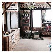 照明/セリア/DIY板壁/NO GREEN NO LIFE/足場板/DIY食器棚…などに関連する他の写真