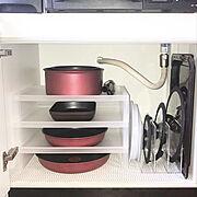 調味料/整理収納/キッチン収納/シンプルライフ/持たない暮らし/収納…などのインテリア実例