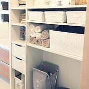 ニトリ/無印良品/整理整頓/雑貨/ナチュラル/Bathroom…などのインテリア実例