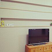 飾り棚の使い方がわからないのインテリア実例写真