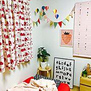 Bedroom/Daiso/子供とふたりで暮らす/すのこ/スクエアボックス/ハンドメイド…などに関連する他の写真