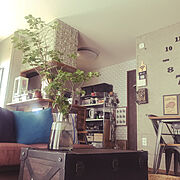 ホルムガード/ホルムガード HOLMEGAARD/ツツジ水挿し/観葉植物のある部屋/賃貸でも楽しく♪…などのインテリア実例