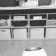 北欧/セリア/きのこ雑貨/My Shelf…などのインテリア実例