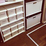 収納/カラーBOX/100均/Kitchen…などのインテリア実例