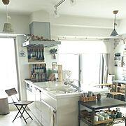 2017.6.9/ミーツ/折りたたみ椅子/natural kitchen &/ホームエレクターヴィンテージ…などのインテリア実例
