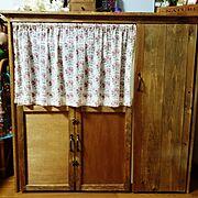 seria/100均/食器棚/DIY/My Shelf…などのインテリア実例