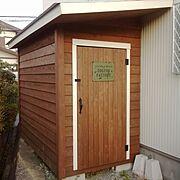 グリーン/枕木 アプローチ/ウッドフェンス/ガーデン/カツラ/ブルーベリー…などに関連する他の写真
