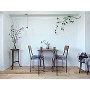 ムートン/元和室/植物のある暮らし/Blogやってます♪/和室/カフェ風…などのインテリア実例