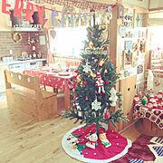 クリスマスディスプレイ/クリスマス雑貨/クリスマス仕様/minneもよろしくお願いします/いつもいいねやコメントありがとう♡…などのインテリア実例