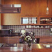 じょぶの家/じょぶ/照明/造作食器棚/造作家具/ナチュラル…などのインテリア実例