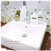 アクセントクロス/イベント参加用/フェイクグリーン/ニトリ/壁紙/リクシルのトイレ…などに関連する他の写真