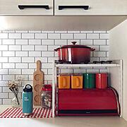 Kitchen/ミッドセンチュリー/水筒/モノ集め/kleankanteen/brabantia…などのインテリア実例