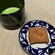 抹茶碗/和菓子/抹茶が飲みたい/抹茶/作家さんの器/甘味…などのインテリア実例