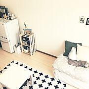 IKEA/観葉植物/冷蔵庫/雑貨/賃貸/ダイソー…などのインテリア実例