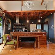 キッチン収納/キッチンカウンター/入居前/アソビスタイルショールーム/リフォーム…などに関連する他の写真