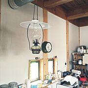 ランプ/古いもの好き/Kitchen…などのインテリア実例