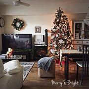 クリスマス/クリスマスツリー/Overview…などのインテリア実例