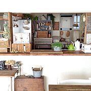 DIY棚/DIY/Kitchen…などのインテリア実例