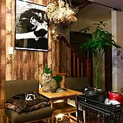 植物/壁紙屋本舗/セルフリフォーム/昭和の家/壁紙/On Walls…などに関連する他の写真