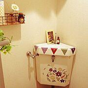 セリア/賃貸でも楽しく♪/こどもと暮らす。/3Coins/Bathroom…などのインテリア実例