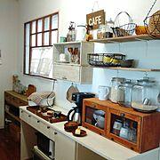 手作り家具/DIY/Kitchen…などのインテリア実例