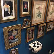 脱☆築40年以上の昭和な団地/トイレの棚DIY/セリアのフォトフレーム/リメイク缶…などに関連する他の写真