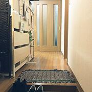ナチュラル/観葉植物/1K/一人暮らし/暮らしの一コマ/Entrance…などのインテリア実例