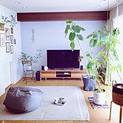 IKEA/無印良品/ドウダンツツジ/植物のある暮らし/しゃれとんしゃあ会/壁紙屋本舗…などのインテリア実例