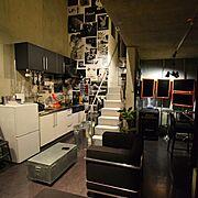 Marshall 冷蔵庫のインテリア実例写真