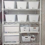 My Shelf/収納ボックス/引き出し収納/セリア/100均/リビング収納…などのインテリア実例