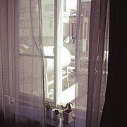 出窓 なんとか変えたいのインテリア実例写真