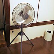 和室 /扇風機/男前/業務用扇風機/Overview…などのインテリア実例
