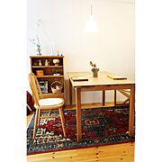 IKEA/漆喰壁/北欧xDIY/いいね&フォローありがとうございます☆/マンションインテリア…などのインテリア実例