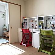 和室をキッズスペースにのインテリア実例写真