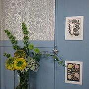 板壁DIY/多肉植物/リメ缶/Entranceに関連する他の写真
