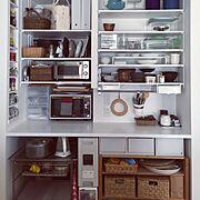 可動棚/食器棚/無印良品/ニトリ/IKEA/Kitchen…などのインテリア実例