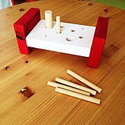 DIY/ハンドメイド/IKEA風/おもちゃ…などのインテリア実例
