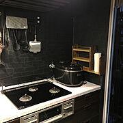 コンロ周り/セリア/セリア タイルシート/Kitchenに関連する他の写真